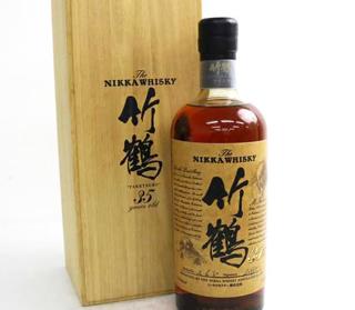 ニッカ竹鶴ウイスキーの価値と買取相場