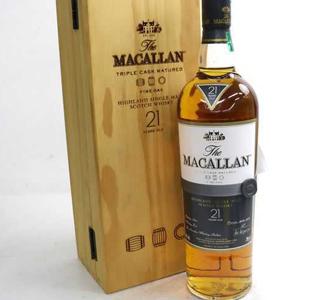 マッカラン(The MACALLAN)21年の価値と買取相場