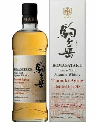 駒ヶ岳 津貫エイジング bottled in 2018