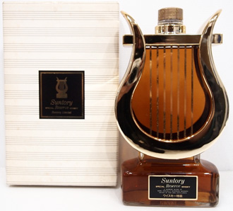 サントリー スペシャルリザーブ ハープ型 特級ウイスキー