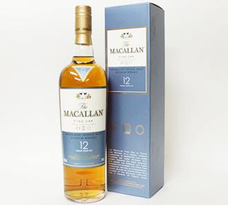 ザ・マッカラン12年ウイスキーの価値と買取相場