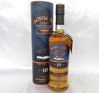ボウモア10年ウイスキーの価値と買取相場