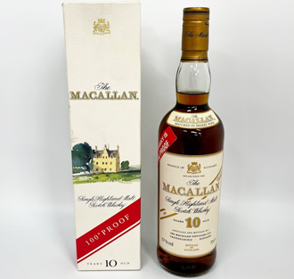 ザ・マッカラン10年ウイスキーの価値と買取相場