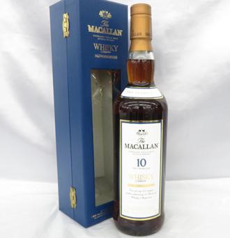 ザ・マッカラン 10年 ウイスキーマガジン 10周年記念ボトル ウイスキー